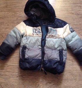 Куртка зимняя Guliver