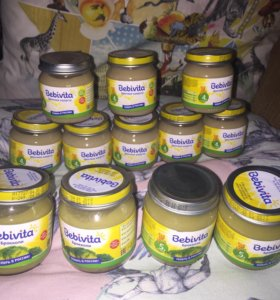 Детское питание овощное пюре Bebivita