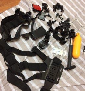 Крепления на экшн камеру