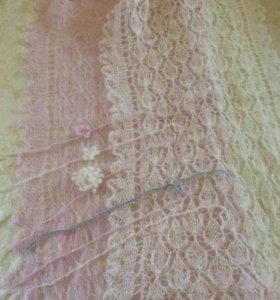Палантины и повязки для фото съемки new born