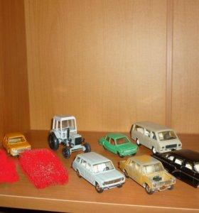 Модели СССР 1:43 Машинки ГАЗ, Волга, ЗАЗ, ВАЗ.