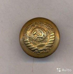 Пуговица генеральская 1936-40 гг. 11 лент редкая