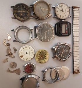 Совецкие часы на запчасти