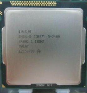 Материнка P8H77 V LE сокет 1155 процессор I5 2400