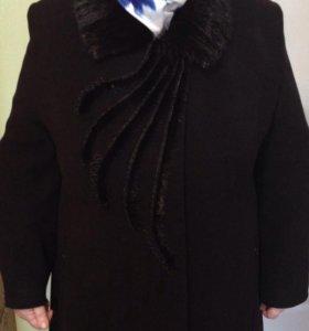 Пальто 58-60 р. Евро-зима кашемировое