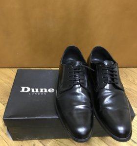 Мужские кожаные туфли Dune