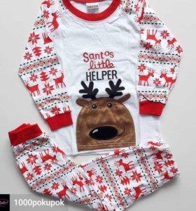 Пижамы детские , новогодняя тема