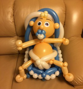 Воздушный шар фигурка малыша