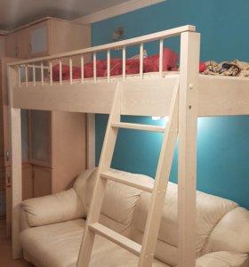 Кровать (второй ярус)