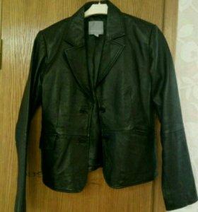 Кожанная куртка - пиджак
