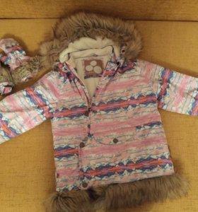 Куртка хуппа зимняя