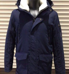 Новая мужская зимняя парка куртка