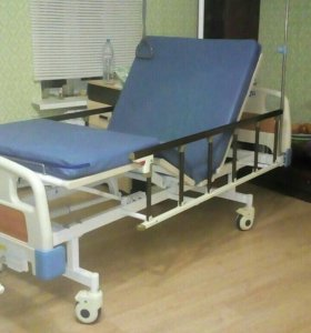 Медецинская кровать с матрасом+ ортопедический