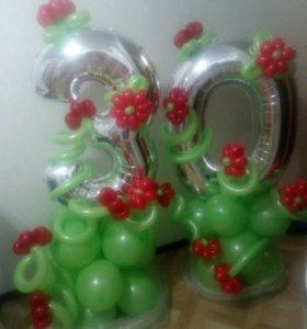 Гелиевые шарики г. Коломна