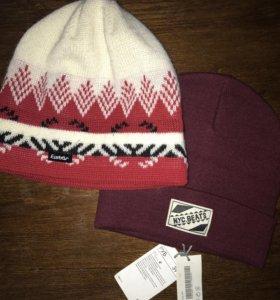 2 новые шапки