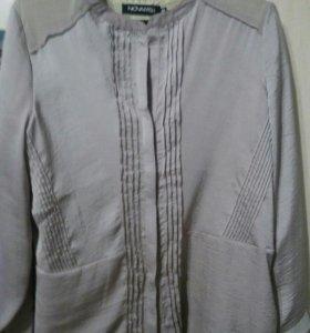Блуза цвета ''пыльная роза''Камера искажает цвет..