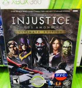 Injustice ultimate edition на Xbox360