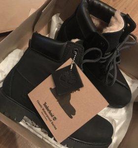 Timberland, зимние ботинки 36;37