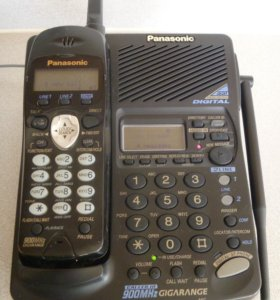 Panasonic kx-tc1891b 900 МГц МАЛАЙЗИЯ НОВЫЙ ГАР-Я