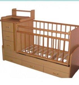Кровать - трансформер + матрац