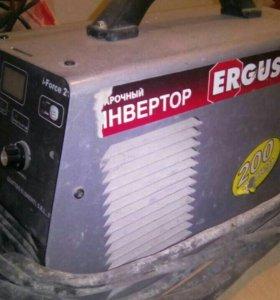 сварочный аппарат инвертор ergus i-force 210