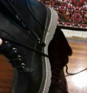 ботинки женские зимнии