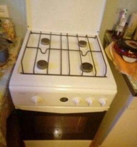Газовая плита ЛАДА,4 комфорки,духовка.