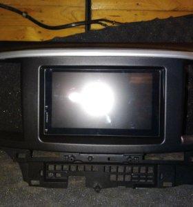 Штатная магнитола для Mitsubishi Lancer X