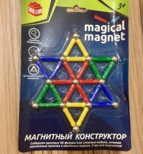Магнитный конструктор 37 деталей