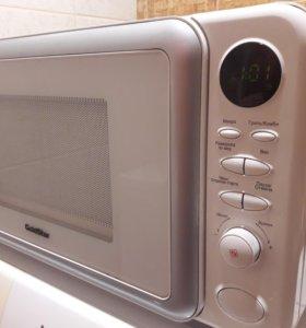 Микроволновая печь с грилем (микроволновка)