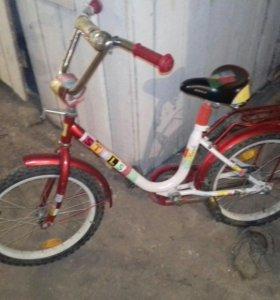 Детский велосипед до 8-9лет