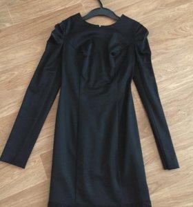 Платье из итальянской ткани