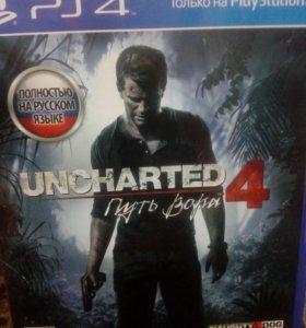 Игра uncharted 4 путь вора на ps4
