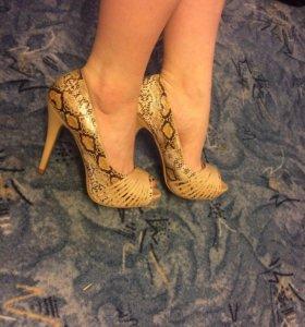 ❗️Новые туфли на высоком каблуке (11 см)