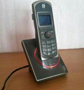 Цифровой цветной беспроводной телефон