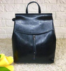 Кожаный рюкзак. Натуральная кожа