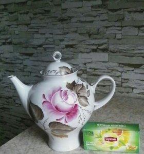 Большой заварочный чайник 2 литра,