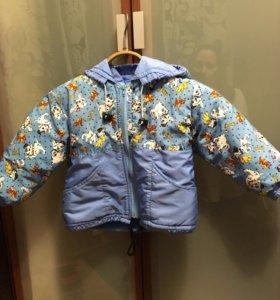 Куртка детская на 2-2,5 года (весна/осень)