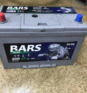Продам BARS D31R 100ач пуск 800