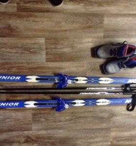 лыжные ботинки 36 р