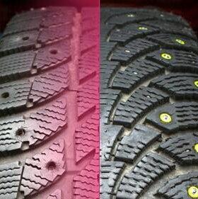 Дошиповка шин ремонтными шипами