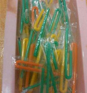 трубочки от детского питания