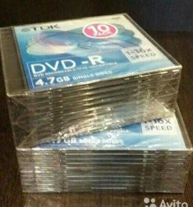 DVD R ДИСКИ TDK 4,7GB