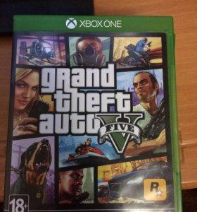 Игра GTA V XBOX ONE