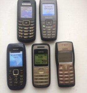 Телефоны Нокиа,Самсунг