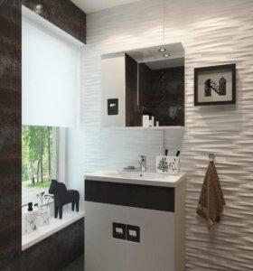 Комплект мебели для ванн Braunsy 70 с умывальником