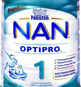 Детская молочная смесь NAN 1