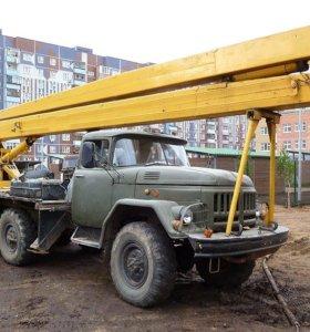 Услуги Автовышки на базе зил-131