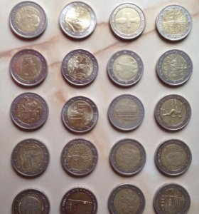 Монеты 2 евро