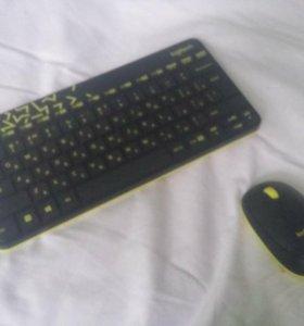 Клавиатура и мышь Logitech